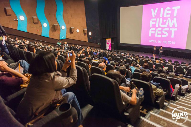 movie theater at Viet Film Fest